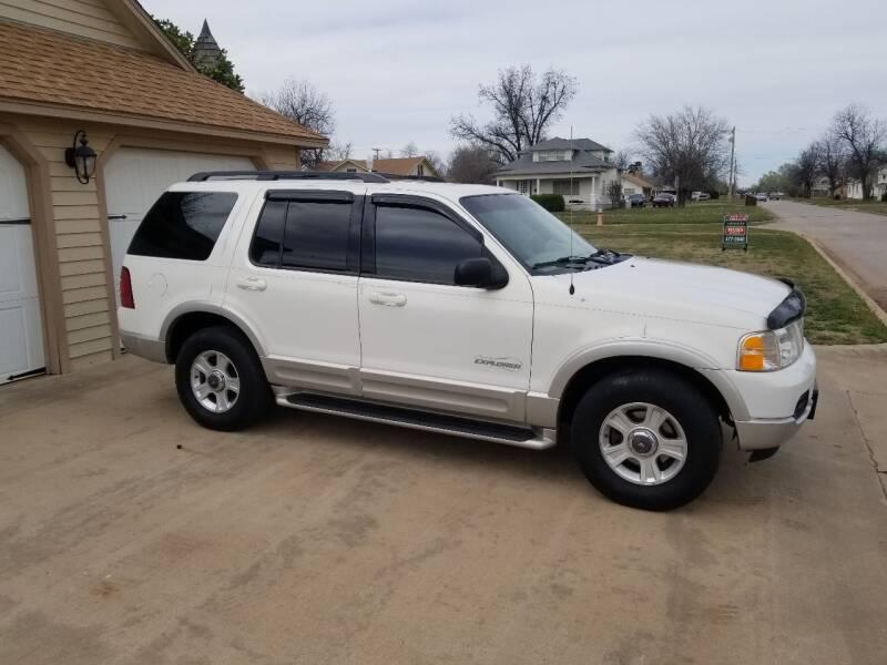 2002 Ford Explorer for sale at Eastern Motors in Altus OK