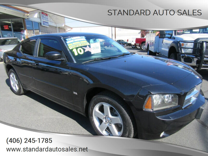 2010 Dodge Charger for sale at Standard Auto Sales in Billings MT