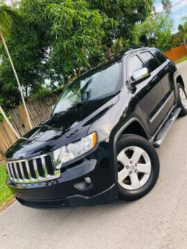 2011 Jeep Grand Cherokee for sale at IRON CARS in Hollywood FL