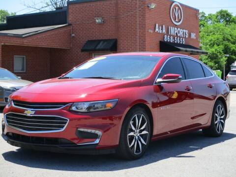 2018 Chevrolet Malibu for sale at A & A IMPORTS OF TN in Madison TN