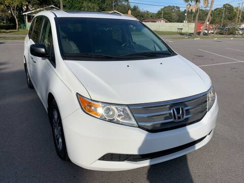 2012 Honda Odyssey for sale at Consumer Auto Credit in Tampa FL
