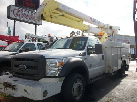 2013 Ford F550 4WD Bucket Truck for sale at Classics Truck and Equipment Sales in Cadiz KY