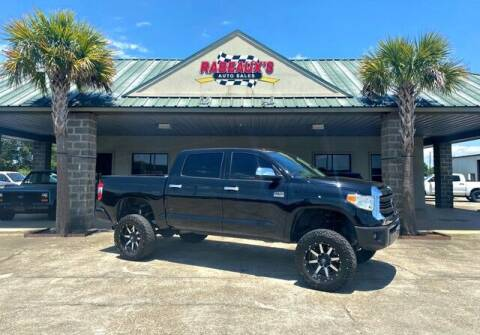 2017 Toyota Tundra for sale at Rabeaux's Auto Sales in Lafayette LA