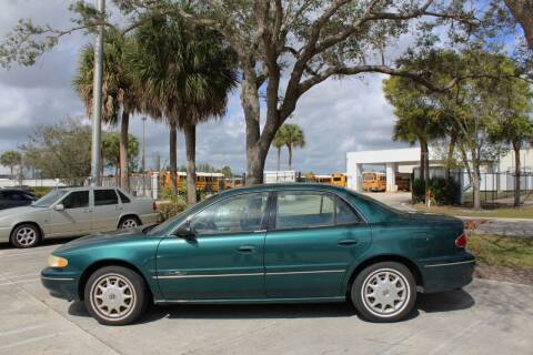 1999 Buick Century for sale at LIBERTY MOTORCARS INC in Royal Palm Beach FL