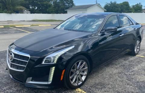 2014 Cadillac CTS for sale at Guru Auto Sales in Miramar FL