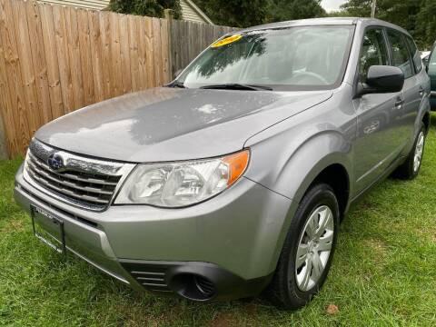 2010 Subaru Forester for sale at ALL Motor Cars LTD in Tillson NY