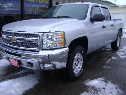 2012 Chevrolet Silverado 1500 for sale at Cheyka Motors in Schofield WI