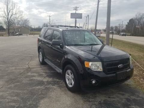 2010 Ford Escape Hybrid for sale at Aaron's Auto Sales in Poplar Bluff MO