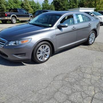 2011 Ford Taurus for sale at Guarantee Auto Galax in Galax VA
