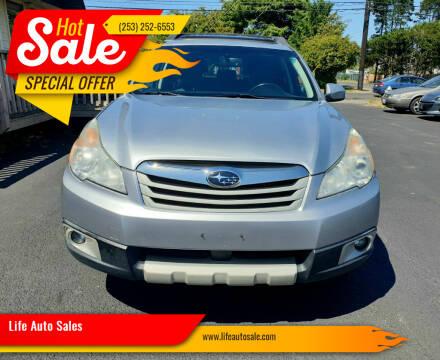 2012 Subaru Outback for sale at Life Auto Sales in Tacoma WA