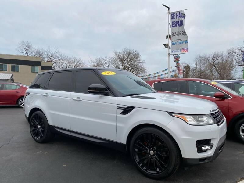 2015 Land Rover Range Rover Sport for sale at WOLF'S ELITE AUTOS in Wilmington DE