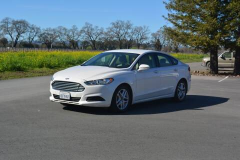 2016 Ford Fusion for sale at AutoDistributors Inc in Fulton CA