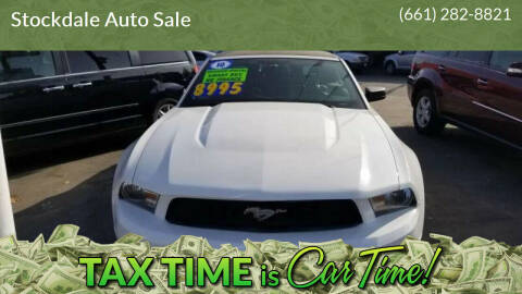 2010 Ford Mustang for sale at Stockdale Auto Sale in Bakersfield CA