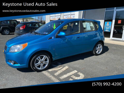 2009 Chevrolet Aveo for sale at Keystone Used Auto Sales in Brodheadsville PA