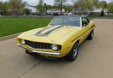 1969 Chevrolet Camaro for sale at WEST PORT AUTO CENTER INC in Fenton MO