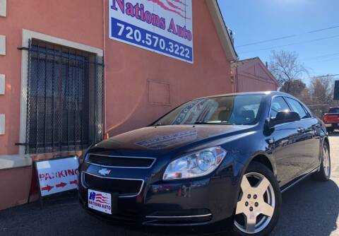 2008 Chevrolet Malibu for sale at Nations Auto Inc. II in Denver CO