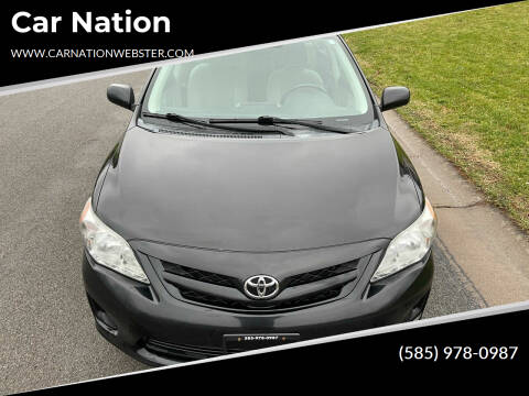 2011 Toyota Corolla for sale at Car Nation in Webster NY