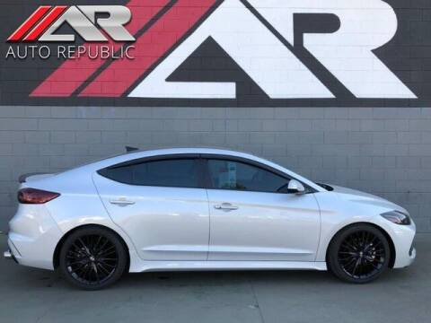 2018 Hyundai Elantra for sale at Auto Republic Fullerton in Fullerton CA