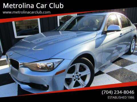 2014 BMW 3 Series for sale at Metrolina Car Club in Matthews NC