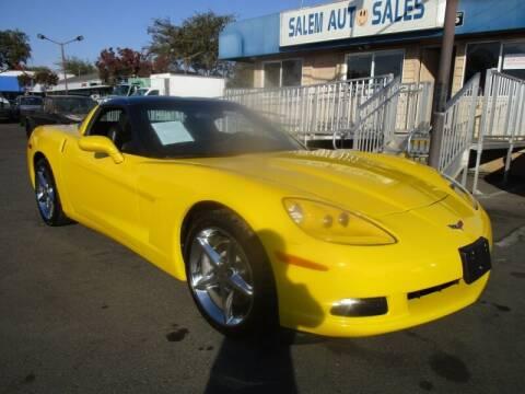 2012 Chevrolet Corvette for sale at Salem Auto Sales in Sacramento CA
