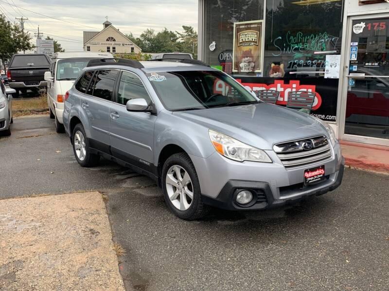 2013 Subaru Outback for sale at AUTOMETRICS in Brunswick ME
