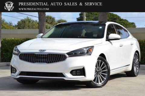 2017 Kia Cadenza for sale at Presidential Auto  Sales & Service in Delray Beach FL