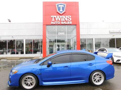 2020 Subaru WRX for sale at Twins Auto Sales Inc Redford 1 in Redford MI