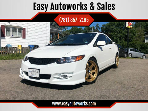 2009 Honda Civic for sale at Easy Autoworks & Sales in Whitman MA