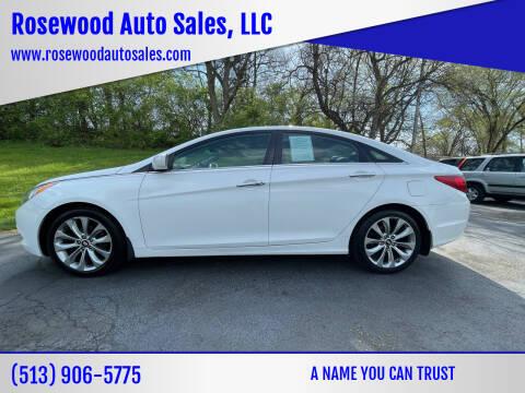 2012 Hyundai Sonata for sale at Rosewood Auto Sales, LLC in Hamilton OH