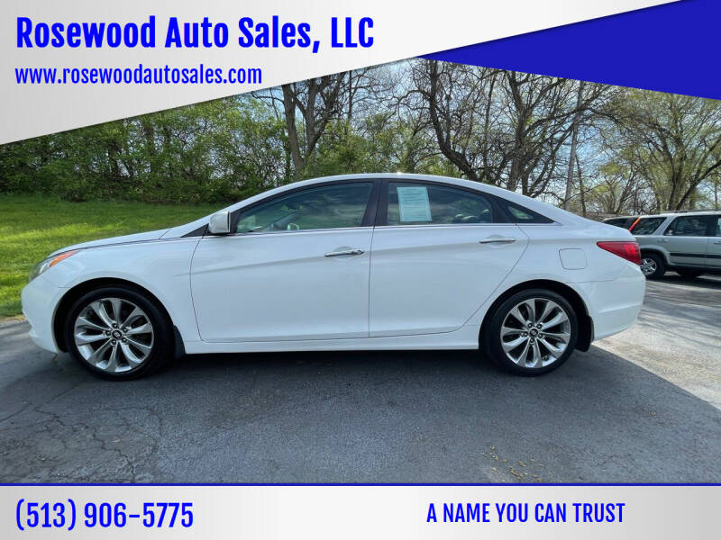 2012 Hyundai Sonata for sale at Rosewood Auto Sales, LLC in Hamilton OH