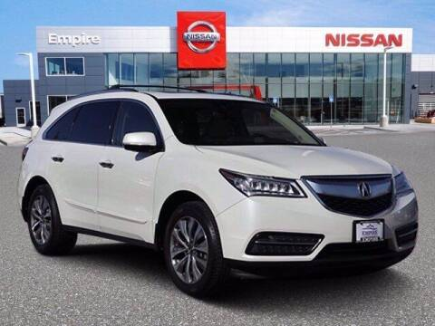 2014 Acura MDX for sale at EMPIRE LAKEWOOD NISSAN in Lakewood CO