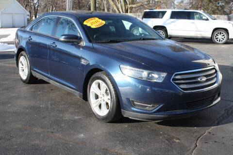 2016 Ford Taurus for sale at LJ Motors in Jackson MI
