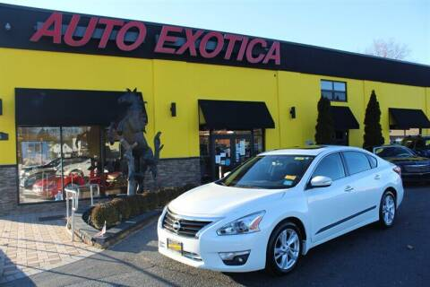 2015 Nissan Altima for sale at Auto Exotica in Red Bank NJ