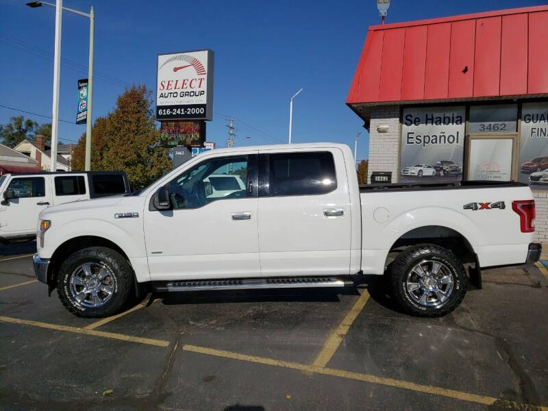 2017 Ford F-150 for sale at Select Auto Group in Wyoming MI