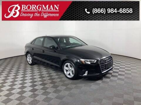 2017 Audi A3 for sale at BORGMAN OF HOLLAND LLC in Holland MI