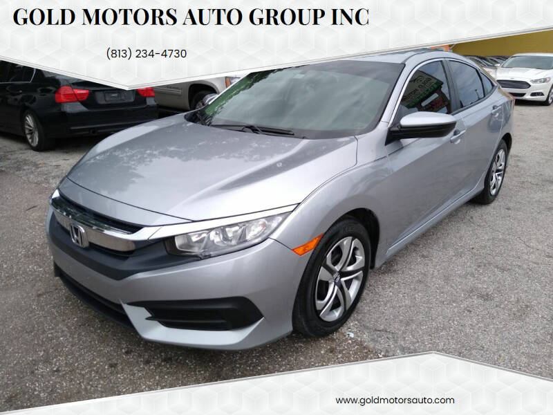 2018 Honda Civic for sale at Gold Motors Auto Group Inc in Tampa FL