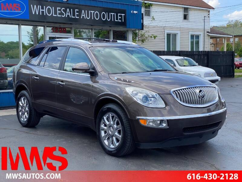 2011 Buick Enclave for sale at MWS Wholesale  Auto Outlet in Grand Rapids MI