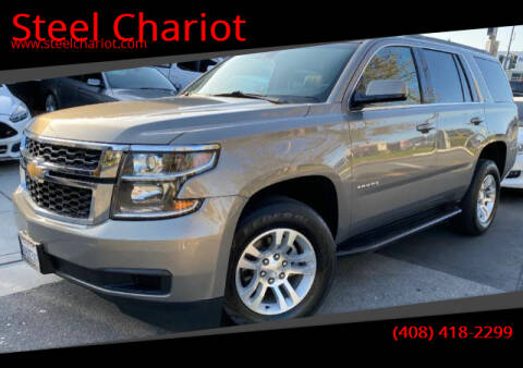 2019 Chevrolet Tahoe for sale at Steel Chariot in San Jose CA