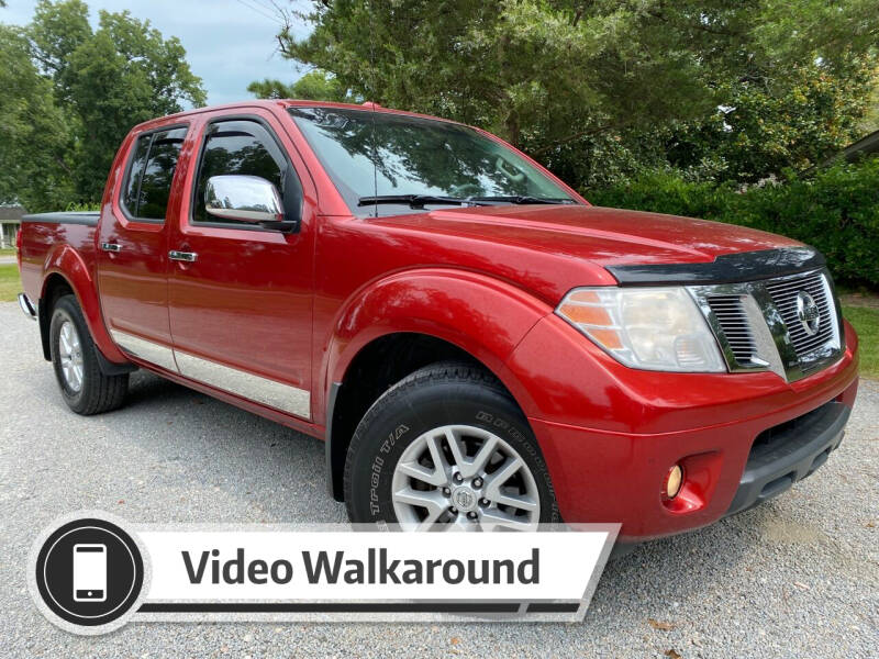2014 Nissan Frontier for sale at Byron Thomas Auto Sales, Inc. in Scotland Neck NC