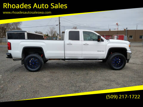 2015 GMC Sierra 2500HD for sale at Rhoades Auto Sales in Spokane Valley WA