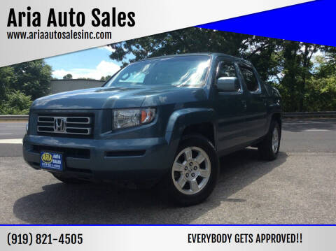 2008 Honda Ridgeline for sale at ARIA  AUTO  SALES in Raleigh NC