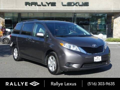 2012 Toyota Sienna for sale at RALLYE LEXUS in Glen Cove NY