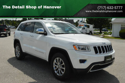 2014 Jeep Grand Cherokee for sale at The Detail Shop of Hanover in New Oxford PA