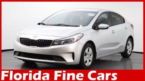 2017 Kia Forte for sale at Florida Fine Cars - West Palm Beach in West Palm Beach FL