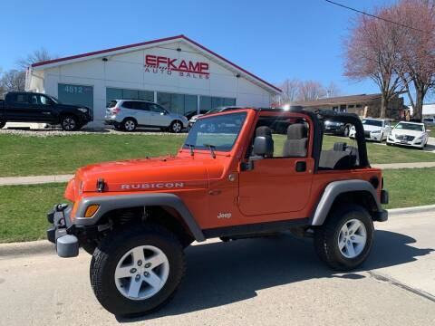 2005 Jeep Wrangler for sale at Efkamp Auto Sales LLC in Des Moines IA