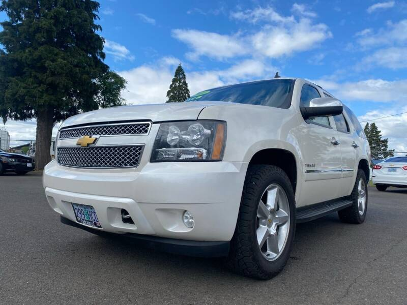 2012 Chevrolet Tahoe for sale at Pacific Auto LLC in Woodburn OR
