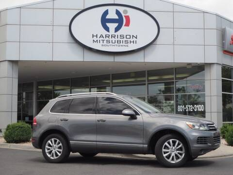 2014 Volkswagen Touareg for sale at Harrison Imports in Sandy UT
