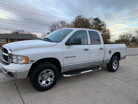 2004 Dodge Ram Pickup 1500 for sale at E Motors LLC in Anderson SC