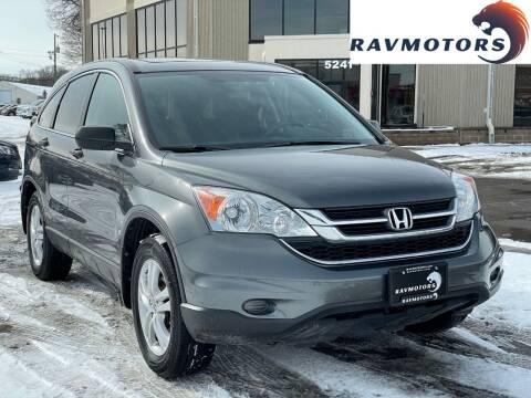 2011 Honda CR-V for sale at RAVMOTORS 2 in Crystal MN