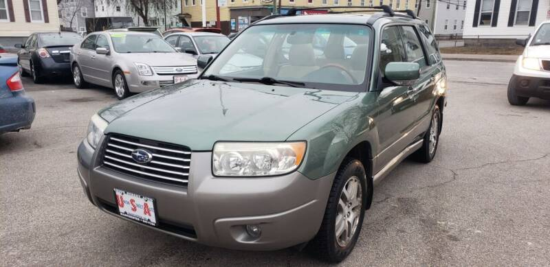2006 Subaru Forester for sale at Union Street Auto in Manchester NH